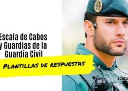 Plantilla-respuestas-examen-Guardia-Civil-2019 Oposición Guardia Civil