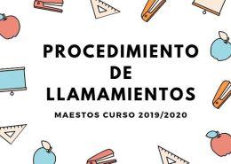 Procedimiento-llamamientos-maestros-Cantabria Notas segunda prueba educacion fisica maestros Cantabria 2019
