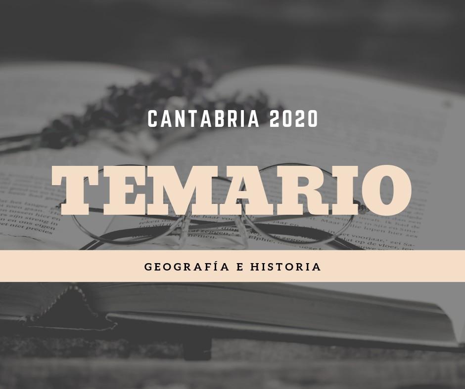 Temario-oposiciones-Geografia-Historia-Cantabria-2020 Temario oposiciones Geografia Historia Cantabria 2020