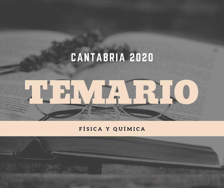 Temario-oposiciones-fisica-y-quimica-Cantabria-2020 Temario oposiciones fisica y quimica Cantabria 2020