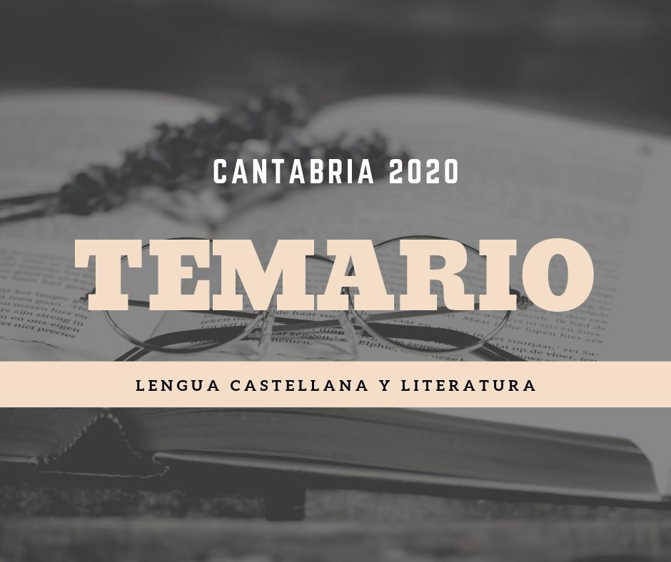 Temario-oposiciones-lengua-Cantabria-2020 Temario oposiciones lengua Cantabria 2020