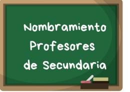 Nombramiento-profesores-secundaria-oposicion-2018 Lista seleccionados maestros Cantabria 2019