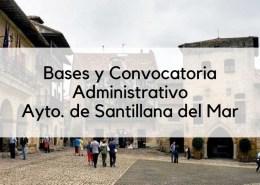 Bases-y-convocatoria-oposicion-Administrativo-Santillana-del-Mar-2019 Temario auxiliar administrativo servicio cantabro de salud