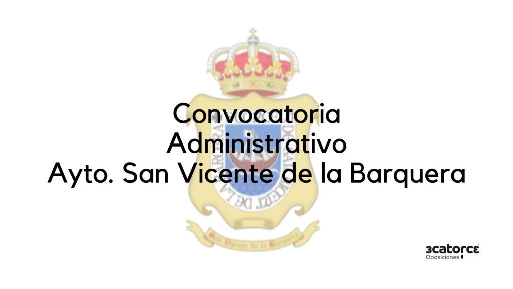 Convocatoria-Administrativo-San-Vicente-de-la-Barquera-2019 Nueva convocatoria Administrativo San Vicente de la Barquera 2019