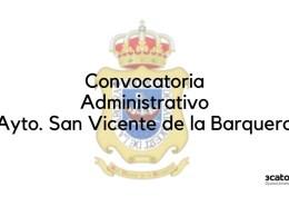 Convocatoria-Administrativo-San-Vicente-de-la-Barquera-2019 Test Auxiliar Administrativo Santander
