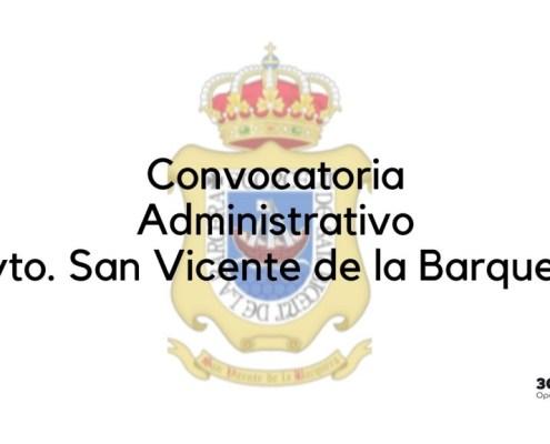 Nueva convocatoria Administrativo San Vicente de la Barquera 2019