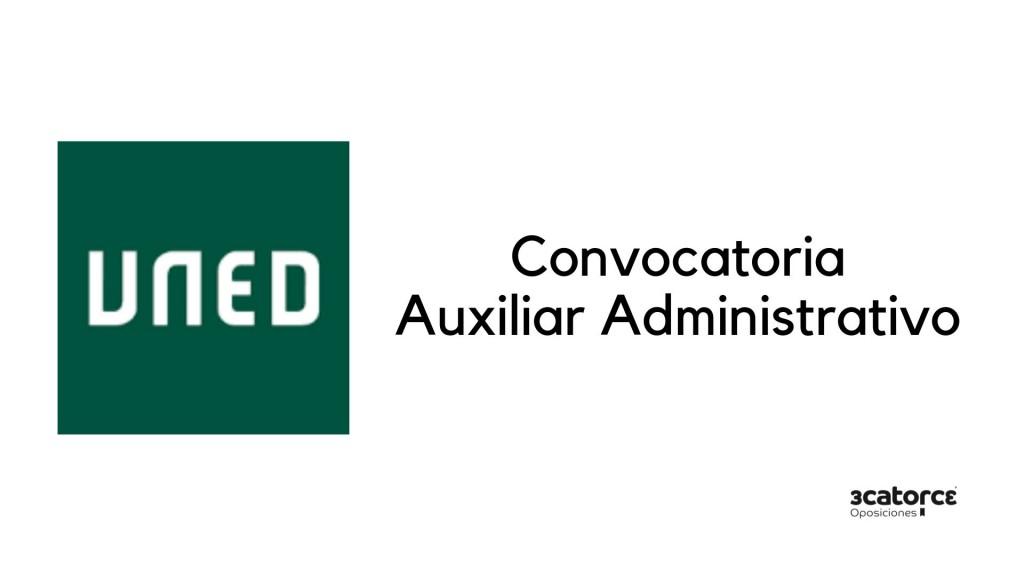 Convocatoria-auxiliar-administrativo-uned-2019 Convocatoria Auxiliar Administrativo UNED 2019