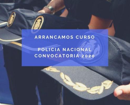 Curso oposicion policia nacional 2020
