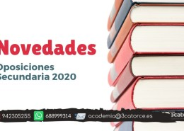Novedades-oposiciones-secundaria-2020 Notas segunda prueba infantil maestros Cantabria 2019