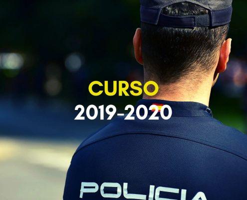cursos policia nacional 2019 2020