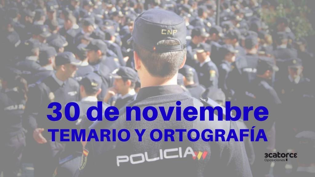 Fecha-examen-Policia-Nacional-2019-conocimientos-y-ortografia Fecha examen Policia Nacional 2019 conocimientos y ortografia
