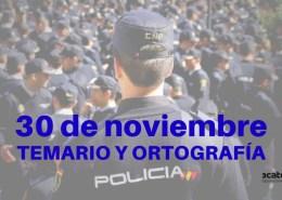 Fecha-examen-Policia-Nacional-2019-conocimientos-y-ortografia Preparador Policia Nacional