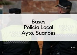 Bases-oposicion-Policia-Local-Suances-2020 Curso Intensivo oposiciones policia local Santander