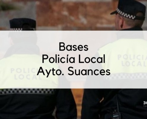 Bases oposicion Policia Local Suances 2020