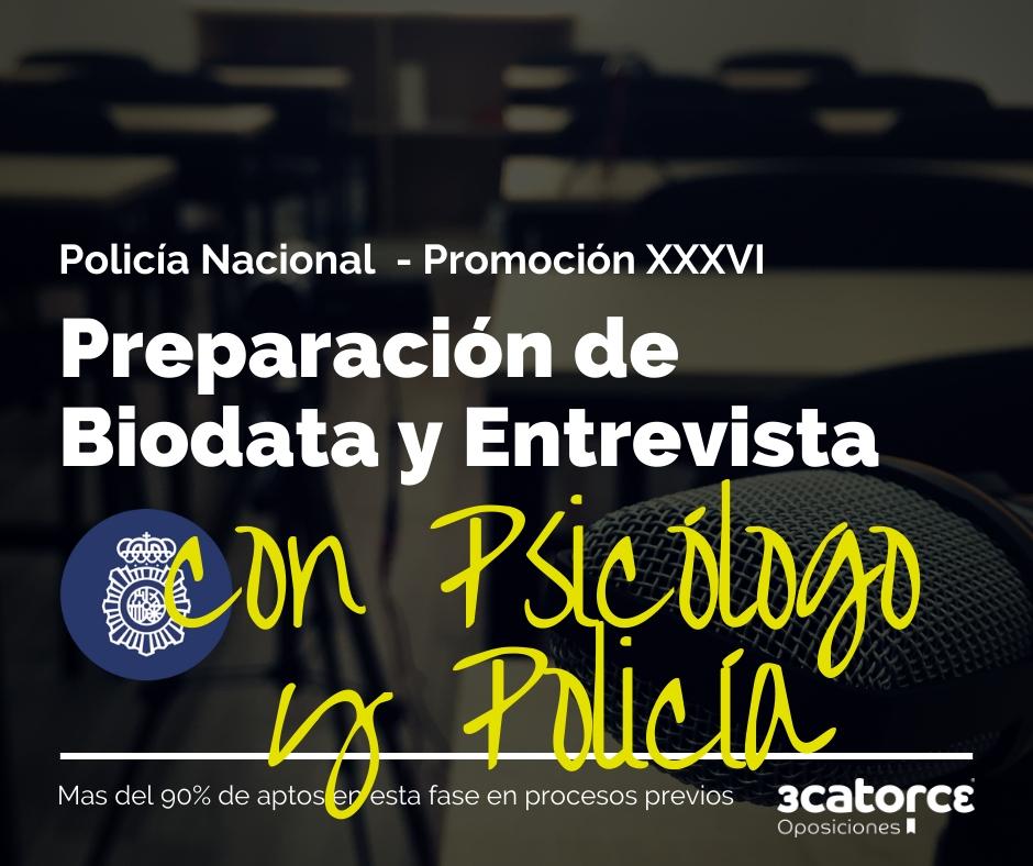 Biodata-entrevista-policia-nacional Publicadas notas de corte policia nacional 36