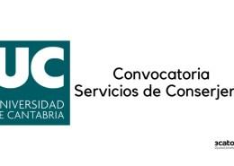 Convocatoria-Conserje-Universidad-Cantabria-2020 Acuerdo OPE 2018
