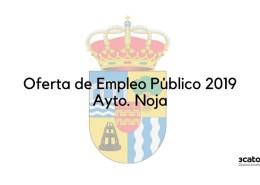 Oferta-Empleo-Publico-Noja-2019 Acuerdo para lanzar la gran oferta empleo publico
