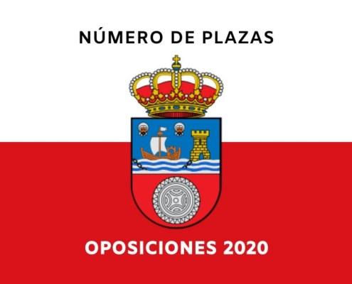 Numero total plazas oposiciones Cantabria 2020