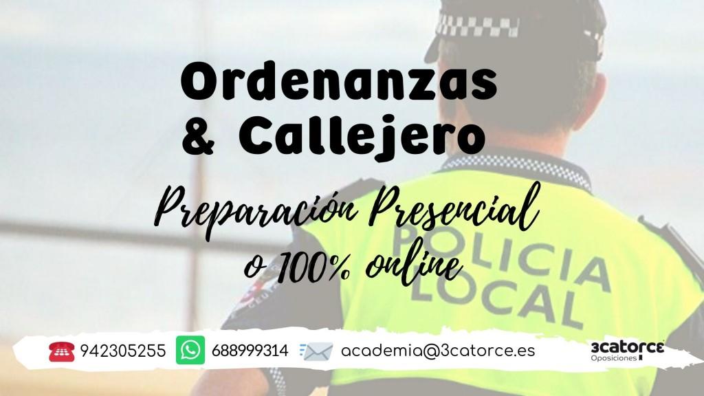 ordenanzas-y-callejero Fecha segundo ejercicio oposicion Policia Local Santander