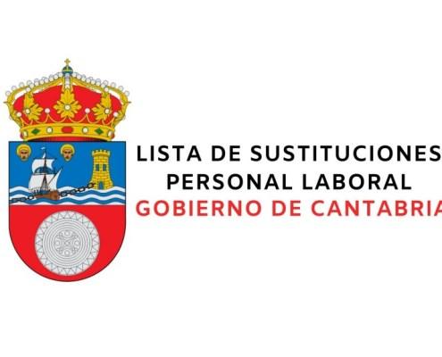 Lista bolsa empleo laborales Gobierno de Cantabria 2020