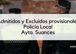 Lista-provisional-admitidos-Policia-Local-Suances-2020 resultados primer ejercicio oposiciones policia local santander