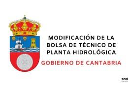 Modificacion-bolsa-Planta-Hidrologica-Cantabria-2020 Bases oposicion Peon Servicio Multiples Guriezo Cantabria