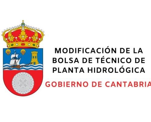 Modificacion bolsa Planta Hidrologica Cantabria 2020