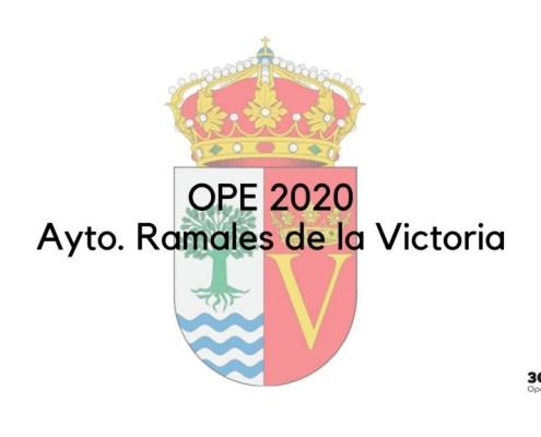 1 plaza Auxiliar Administrativo Ramales de la Victoria 2020