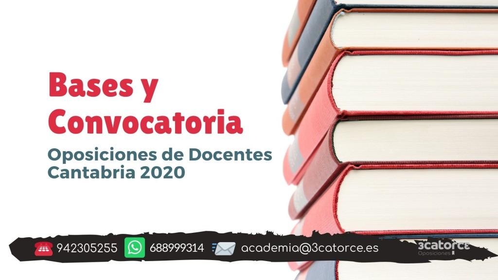 Bases-y-convocatoria-docentes-2020-Cantabria Bases y convocatoria docentes 2020 Cantabria