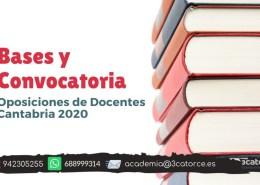 Bases-y-convocatoria-docentes-2020-Cantabria Notas primera prueba maestros ingles Cantabria 2019
