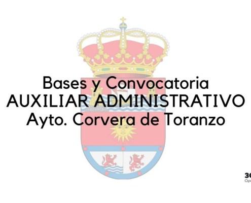 Oposicion auxiliar administrativo Corvera de Toranzo 2020
