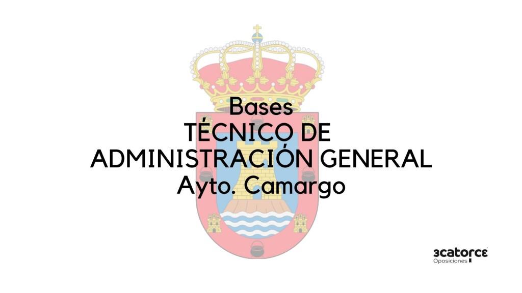 Bases-oposicion-Tecnico-Administracion-General-Camargo-1 Bases oposicion Tecnico Administracion General Camargo