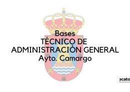 Bases-oposicion-Tecnico-Administracion-General-Camargo-1 Oposiciones administrativo ayuntamientos Cantabria