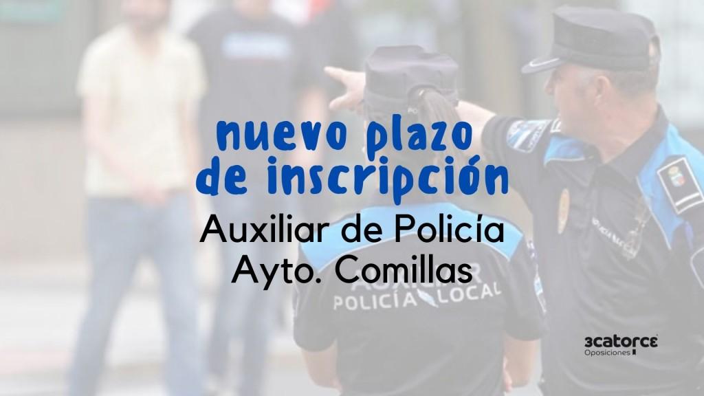 Se-retoma-la-oposicion-auxiliar-policia-Comillas Se retoma la oposicion auxiliar policia Comillas