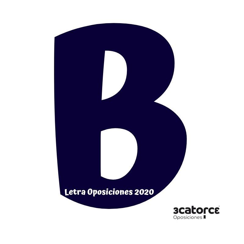 Letra-oposiciones-2020 Letra oposiciones 2020