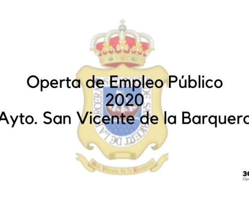 Oferta Empleo Publico 2020 San Vicente de la Barquera