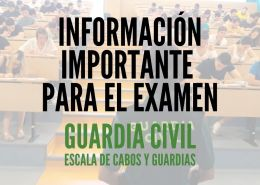 Aviso-importante-examenes-guardia-civil-2020 Reclaman cambios academicos en requisitos guardia civil