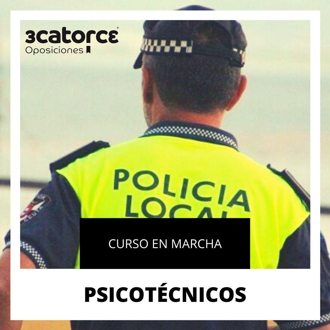 PSICOTENICOS Supuesto corregido Policia Local Santander 2020
