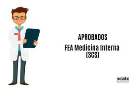 Aspirantes-que-han-superado-la-oposicion-FEA-Medicina-Interna-SCS Tribunal Calificador oposicion FEA Aparato Digestivo SCS