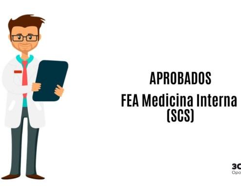Aspirantes que han superado la oposicion FEA Medicina Interna SCS