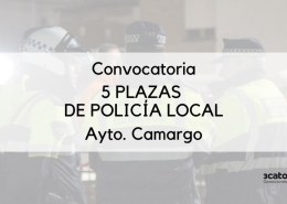 Convocadas-5-plazas-Policia-Local-Camargo-del-tuno-libre Test Policia local santander