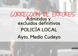 Lista-corregida-de-admitidos-oposicion-policia-local-medio-cudeyo Oferta Empleo Publico 2019 Estado