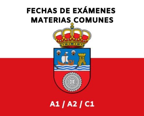 Fecha tercer examen oposiciones Cantabria Cuerpos A1 A2 C1