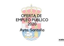 Oferta-empleo-publico-Santona-2020 Oposiciones Alfoz de Lloredo Bases y convocatoria para constituir bolsa peon y cometidos multiples