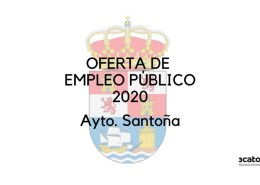 Oferta-empleo-publico-Santona-2020 1 plaza tecnico aula 2 años Reinosa