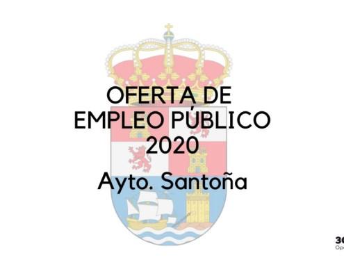 Oferta empleo publico Santoña 2020