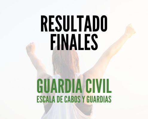 ESULTADOS FINALES GUARDIA CIVIL 2020 pruebas psicofisicas 1