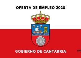 Publicacion-OPE-Cantabria-2020 Primer examen Oposiciones Auxiliar Administrativo Cantabria Barcena de Cicero