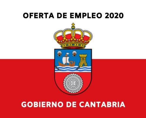Publicacion OPE Cantabria 2020