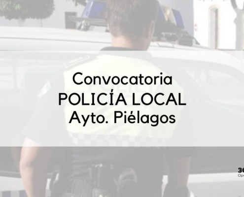 Convocadas 3 plazas policia local Pielagos